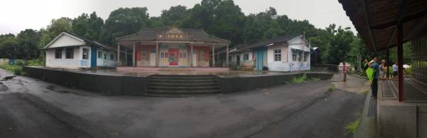 彰化二水碧雲禪寺是歷史建築。(陳文彬提供)