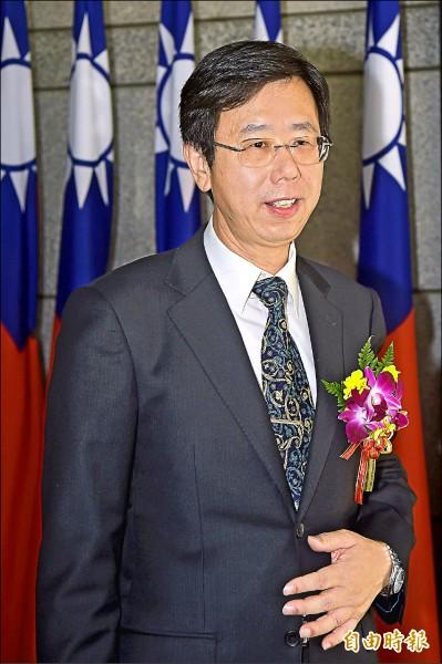 呂文忠繼法務部長蔡清祥之後,成為第二位檢察體系出身的調查局長。 (記者黃耀徵攝)