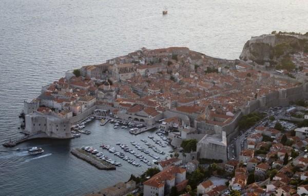 克羅埃西亞的杜布羅夫尼克是影集「權力遊戲」中君臨城的拍攝地。(美聯社)