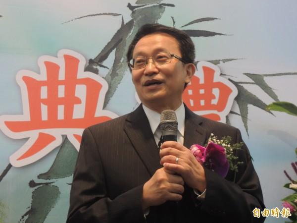 交通大學校長張懋中任期到明年七月底,並已表達不續任意願。(記者洪美秀攝)