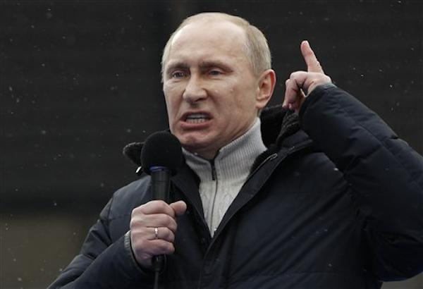 俄國總統普廷所屬的執政黨「統一俄羅斯」的州長候選人敗北,疑是年金改革引眾怒。(法新社資料照)