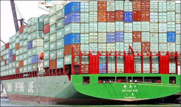美國對中國新一波2000億美元產品課稅10%生效,中國立即回擊對美600億美元產品課稅5到10%。(法新社)