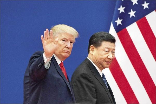 美大規模反制中國措施最快數週內執行。(法新社資料照)