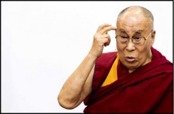 流亡西藏精神領袖達賴喇嘛九月十二日在瑞典第三大城馬爾默發表演說,提到歐洲是屬於歐洲人的,難民應回到他們的祖國重建家園,引發議論。(歐新社檔案照)