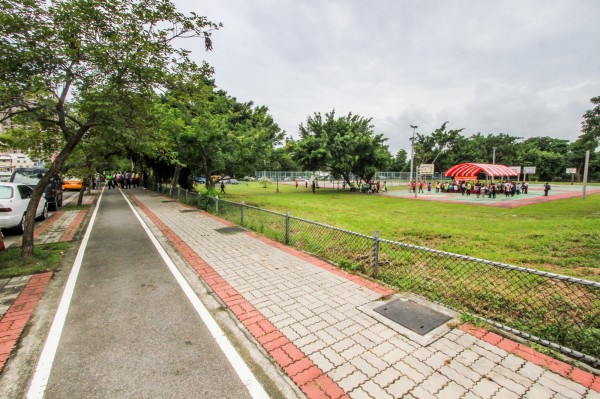市府已推動南區樹德國小設校計畫,圖為學校預定地。(台中市政府提供)