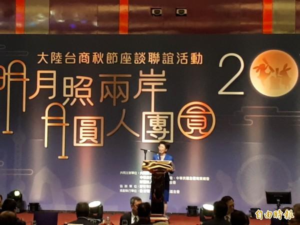 有關台商申領中國居住證議題,台灣海基會及陸委會都強調會對台商寬容看待,也會當台商的靠山,沒有除籍問題。(記者洪美秀攝)