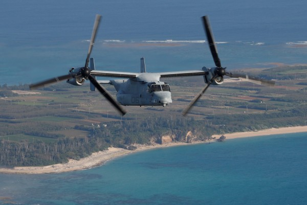 佐賀機場及作為臨時部署地的木更津駐屯地尚未完成接機準備,美國將魚鷹機交付給日本的時間也延期至12月下旬後。(路透)