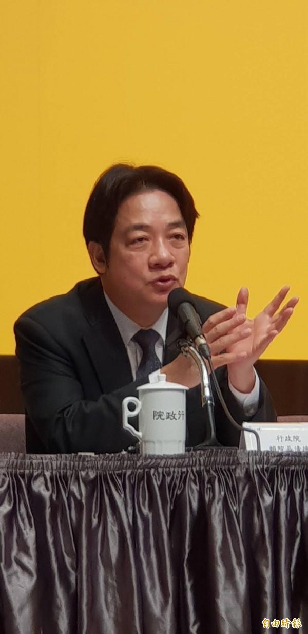 防堵中國非洲豬瘟,賴揆表示,台灣民眾防疫意識仍待提升。(資料照)