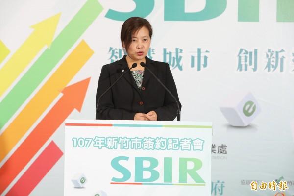 新竹市政府補助在地中小企業的創新補助計劃SBIR,今年有27家廠商獲補助。(記者洪美秀攝)