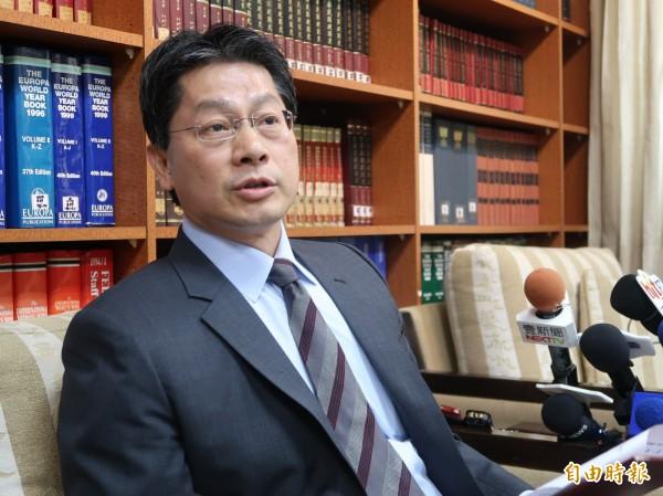 外交部發言人李憲章表示,將中梵關係進展直接簡化為中梵建交,是過度推論的,也是過於簡化的。(資料照)