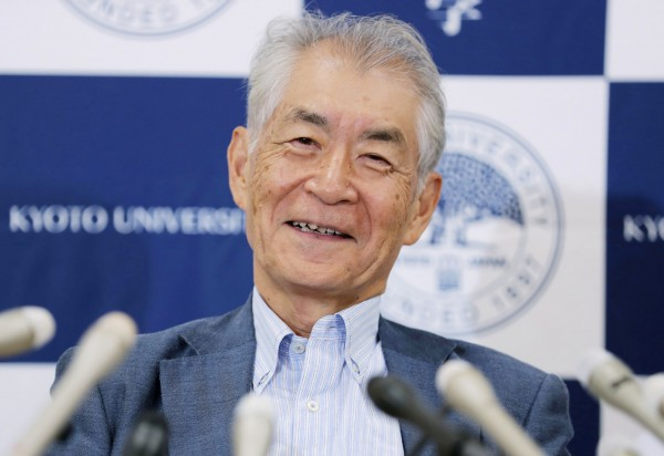 日本京都大學特任教授、現年76歲的本庶佑(圖)與美國免疫學家詹姆士·艾立遜共享諾獎殊榮,成為第26位獲得諾貝爾獎的日本人。(法新社)