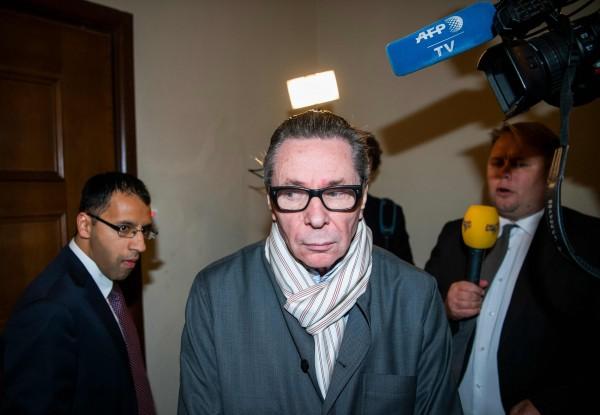 瑞典文化界名人阿爾諾(Jean-Claude Arnault)就是導致諾貝爾文學獎今年停頒的性醜聞主角,今日被瑞典法院判處2年徒刑。(法新社)