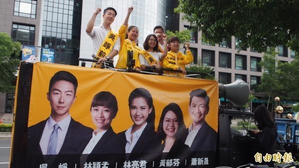 時代力量5位台北市議員參選人還共同連署,「反對捕風捉影式的指控與抹黑、政治討論應本於良性競爭原則」,強調在未有具體證據前不應再進行操作。(資料照)