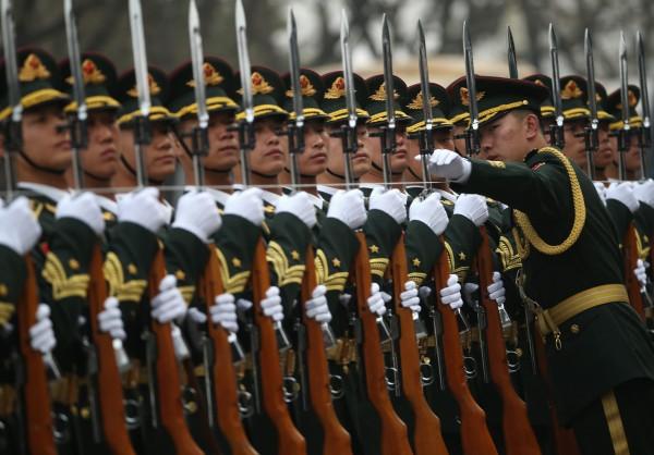 報告指出,隨著人民解放軍現代化加速,中國武力犯台的能力正在提高。(歐新社資料照)