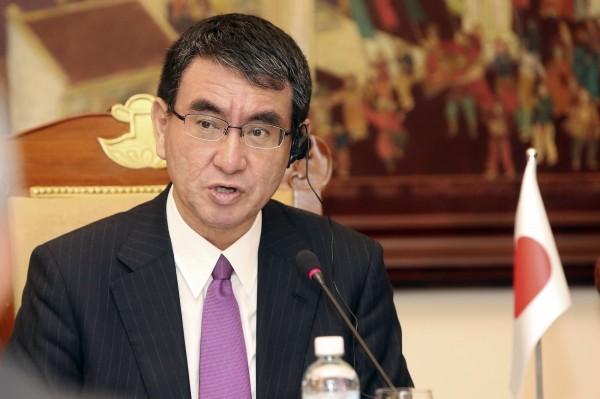 日本外相河野太郎表示,日本將支援非洲基礎建設,強調此舉會兼顧對方國家的財政狀況。(美聯社)