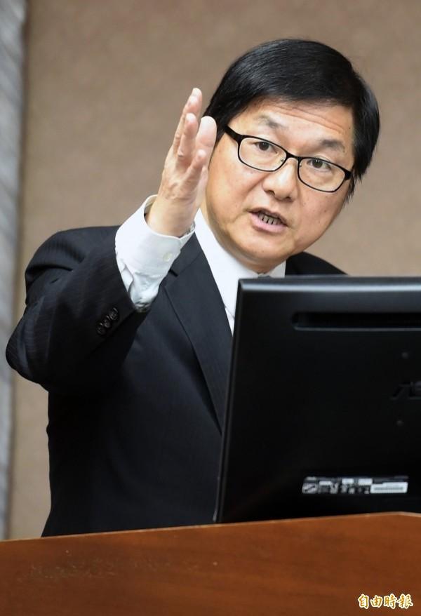 交通部次長祁文中代理桃機公司董事長。(資料照)