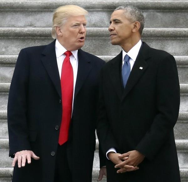 川普批評歐巴馬無能,未能阻止中國在南海增長的勢力。(美聯社)