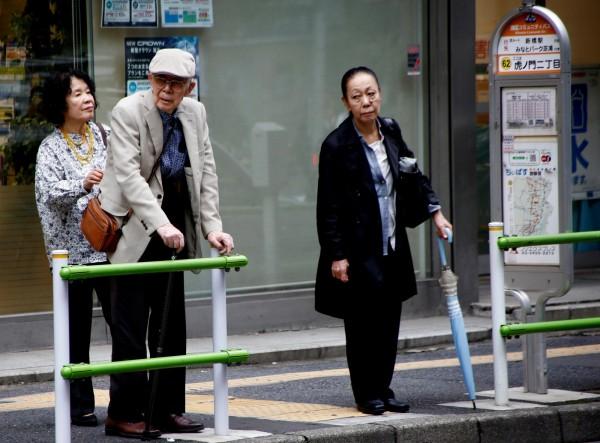 根據最新的調查,中國民眾對日本好感度增加,是14年來最高;然而有86.3%的日本人對中國人「觀感不佳」。圖為東京街頭。(路透)