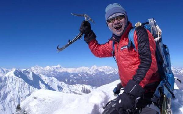 韓國知名登山家金昌浩(Kim Chang-ho,圖),率領另外4名韓國人和4名尼泊爾嚮導組成的9人登山隊,全數在喜馬拉雅山脈古爾加山峰基地營罹難。(歐新社)