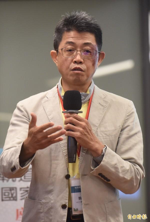 淡江大學運輸管理學系教授張勝雄。(資料照)