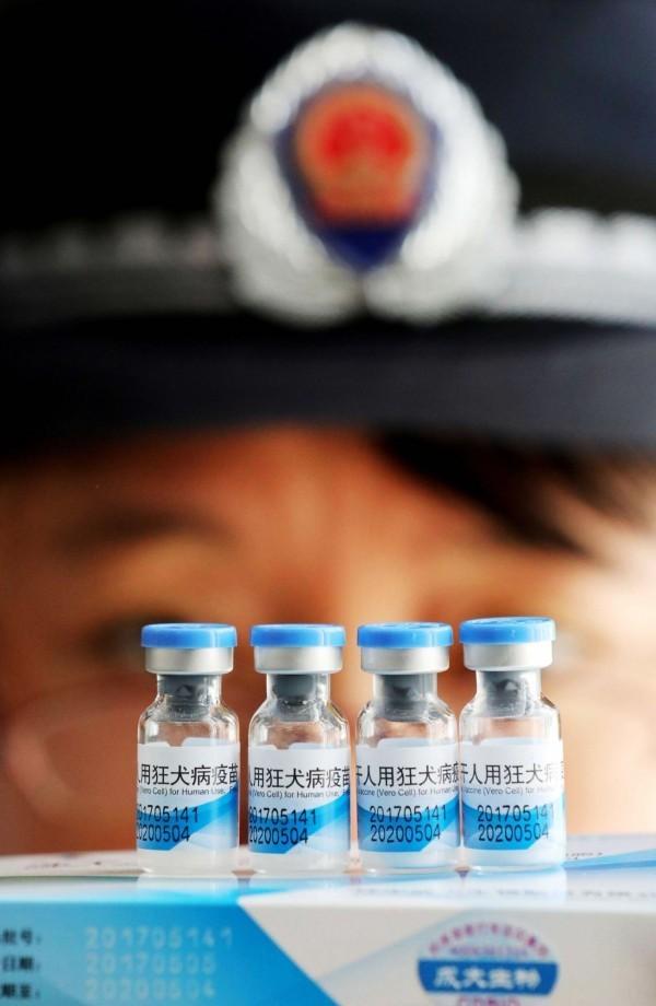 中國長春長生今被重罰91億人民幣,同時被撤銷藥品生產許可。(法新社)