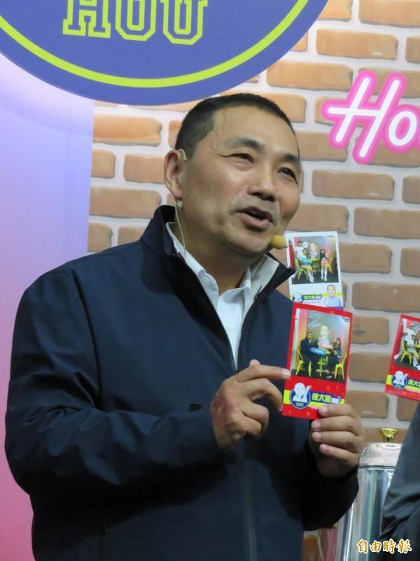 侯友宜被蘇貞昌評警察業務做得好,其他很難有突破,他回諷說,蘇貞昌沒有做過公托、托老、國民運動中心,不知道未來能不能應付這些事。(記者何玉華攝)