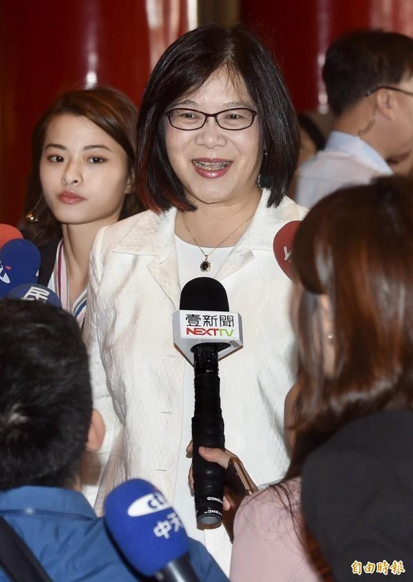 民進黨立委管碧玲。(資料照)