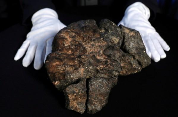 「NWA 11789」被認為是有史以來發現「最重要的月球隕石」之一,相當罕見。(路透)