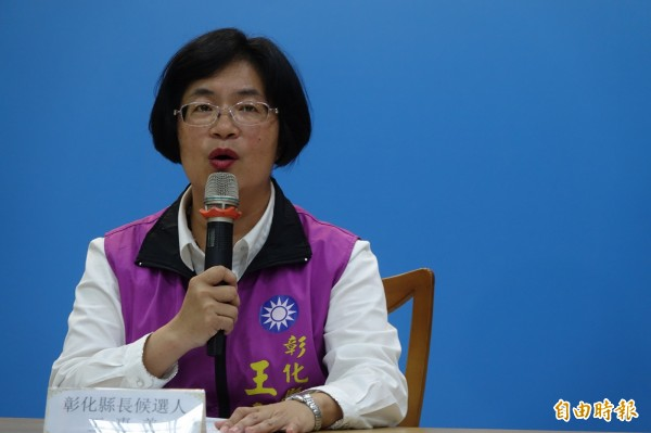 王惠美競選總部今天下午成立,對於黃文玲的指控,迄今仍無法取得總部的回應。(資料照)