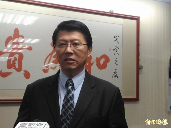 謝龍介宣布停止競選活動,今天的總部成立大會也取消。(資料照)