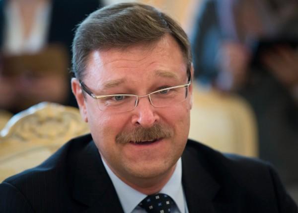 俄羅斯上議院外交委員會主席科薩切夫批評,美國一直在玩政治遊戲。(美聯社)