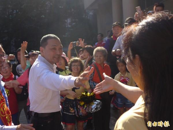 國民黨新北市長候選人侯友宜臨時取消預定學生講座,學生相當失望。(資料照,記者李雅雯攝)