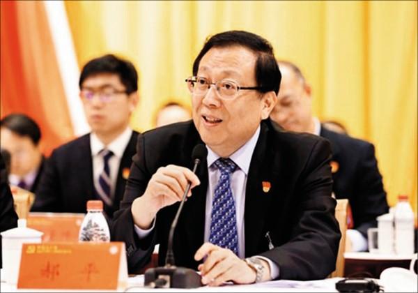北京大學新任校長郝平。(取自網路)