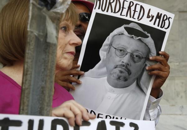 沙烏地阿拉伯當局對於「哈紹吉命案真相」的說法一變再變,國營媒體引述檢方最新說法指出,這是一起預謀殺人案。(美聯社)