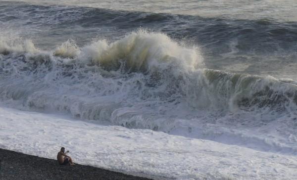 黑海地區發生洪水,至少造成6死1失蹤。圖為黑海示意圖。(路透)