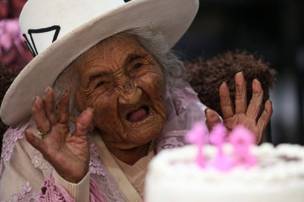 茱莉亞奶奶於26日迎接118歲大壽。(法新社)
