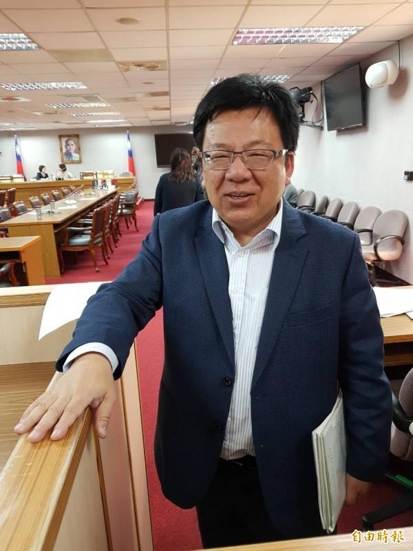 參與審查的立委李俊俋指出,透過本次修法,希望監察院未來對於彈劾案,不管贊成或反對,都應公開記名為之。(記者謝君臨攝)