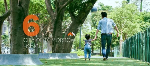 林智堅說,這次選舉以明日新竹為概念,廣邀民眾共同參城市改造行列。(記者蔡彰盛翻攝)