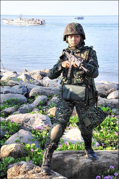 國防部決定,未來女性軍、士官及士兵退伍後,都須納後備軍人管理,接受教召及徵集動員。(資料照)