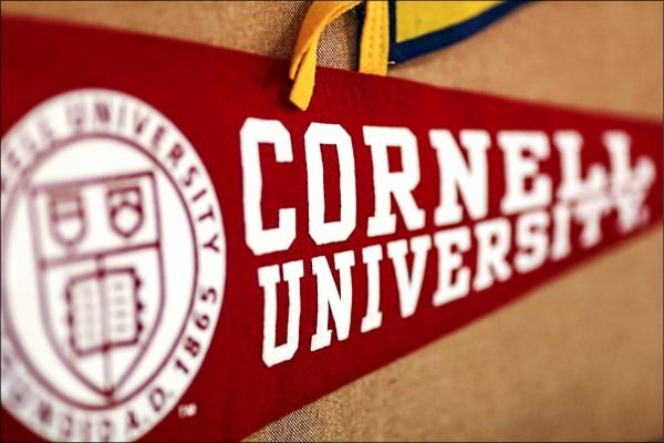 美國康乃爾大學因不滿中國人民大學處分聲援深圳勞工運動的學生,已中止雙方學術合作計畫。(彭博檔案照)