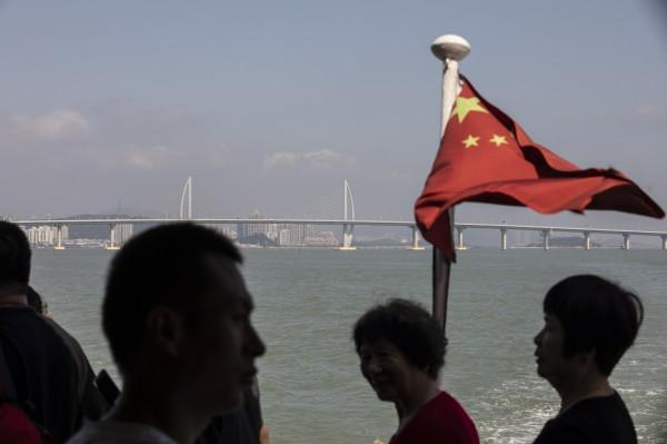 英國記者大嘆中國「社會信用」評分系統,根本是電影中才會出現的「反烏托邦社會」情形。(彭博)