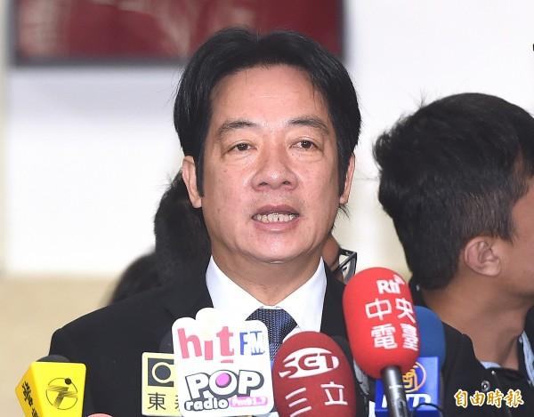 波蘭的電視節目日前公開支持台灣獨立,行政院長賴清德今早被問及此事時回應,這表示「德不孤必有鄰」。(記者廖振輝攝)