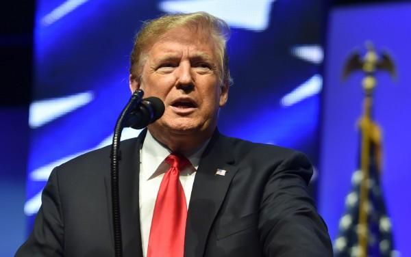 川普表示,雖然他在北韓和敘利亞問題做出貢獻,但還是拿不到諾貝爾獎,因為根本不想頒給他。(法新社資料照)