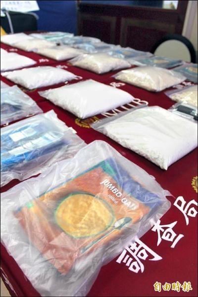 泰國警方今晨逮捕3名台灣販毒犯,起出價值約1.9億元的毒品海洛英。圖為海洛英示意圖,與本文內容無關。(資料照,記者楊政郡攝)