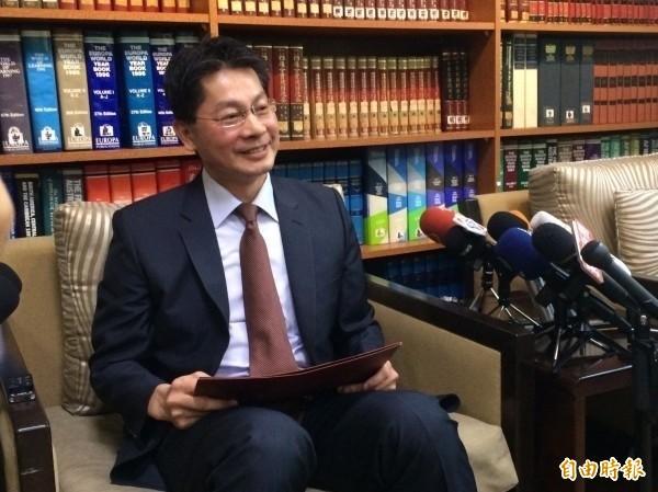 外交部發言人李憲章。(資料照)
