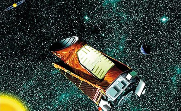 「克卜勒太空望遠鏡」退役。(法新社)