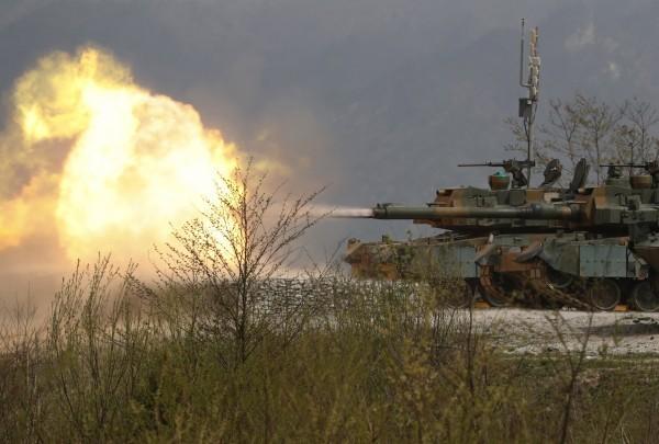 美韓決定中止原訂於12月舉行的大型聯合軍演。(歐新社)