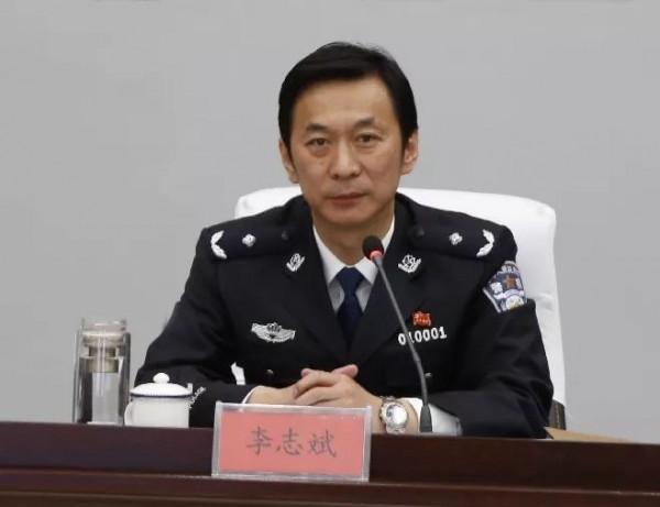 內蒙古自治區公安廳副廳長、呼和浩特市副市長、呼和浩特市公安局局長李志斌,11月1日自殺身亡。(圖擷取自微博)