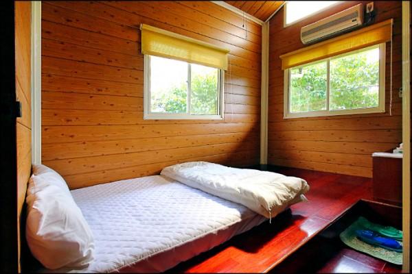 只在此山中: 星之房雙人套房/平日1,600元、假日2,000元(記者李惠洲/攝影)
