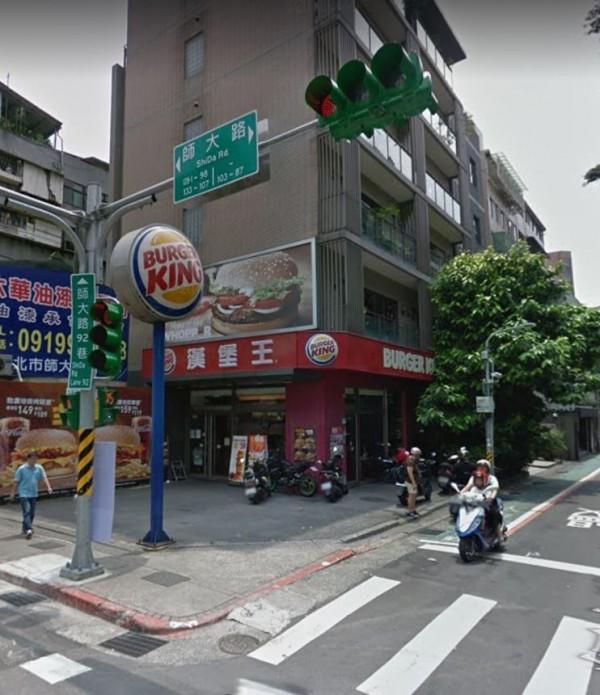 據傳,近日因不敵高租金,許多店家紛紛退出師大商圈,昔日榮景已不再。(圖擷取自Google Map)
